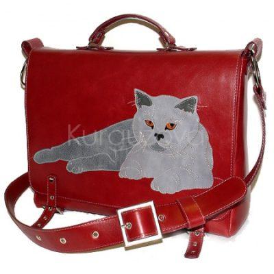 Портфель с котом
